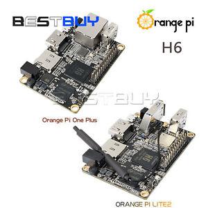 New Orange Pi One Plus H6 Development Board ARM Cortex A53 Quad-core 64bit 1GB
