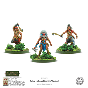 Mythic America Tribal Nations Sachem Warlord *Warlords Of Erehwon* Warlord