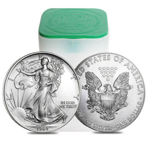 1992 1 oz Silver American Eagle $1 Coin