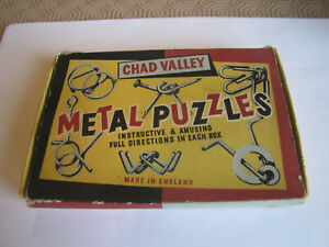 Vintage-Chad-Valley-Metal-Puzzles-Game