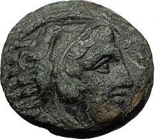 ALEXANDER III the GREAT 323BC Hercules Club Macedonia Ancient Greek Coin i59336