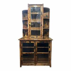 Very-Rare-19th-Century-English-Bamboo-Bookcase