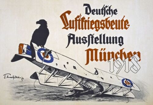 Vintage High Quality German WW1 World War 1 Propaganda Military Posters A5//A4//A3