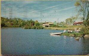 Details about Baker Brook Resort Rowboat US Route 302 Littleton New  Hampshire NH Postcard A14