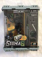 "NEW! GI Joe Sigma 6 Six Codename: Snake Eyes Ninja Commando 8 "" Whip Star"