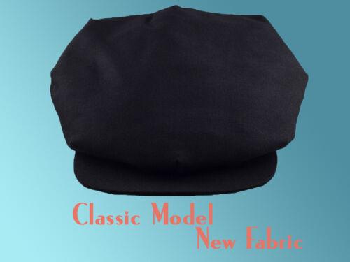 CASQUETTE VINTAGE RETRO SPORT GATSBY Noir GAVROCHE SWING LINDY BERET CAP DANSE