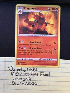 030//192 Magmortar Rare Reverse Holo Rebel Clash