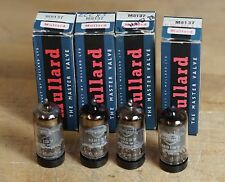 Lot of 4 Mullard M8137 CV4004 (12AX7 ECC83) NOS Tubes