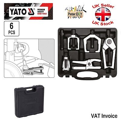 Yato Professional 6pcs FRONT END BALL JOINT SPLITTER Separator Tie Rod EndLifter