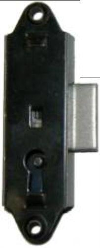 FURNITURE REPAIR PARTS NARROW LOCK AND KEY  M1821
