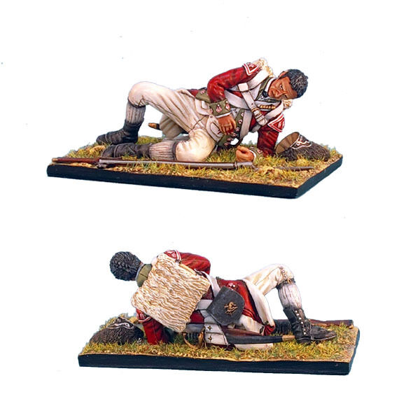 AWI035 British 5th 5th 5th Foot Grenadier Laying Wounded by First Legion 3f13d4