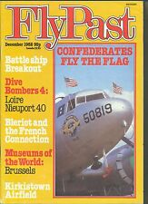 FLYPAST  MAGAZINE  - DECEMBER 1982 - DIVE BOMBERS, BLERIOT. KIRKSDOWN AIRFIELD