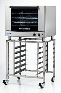 Moffat-E28M4-SK2731U-Electric-Convection-Oven-Full-Size-4-Pan-w-Mobile-Stand