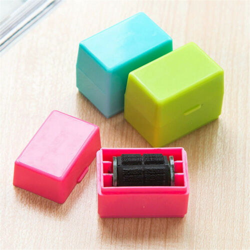 Guard Your ID Roller Stamp SelfInking Stamp Messy Code Security Office HE