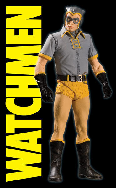 WATCHMEN CLASSIC NITE OWL SERIES 2 ACTION FIGURE 7  DC DIRECT BRAND NEW