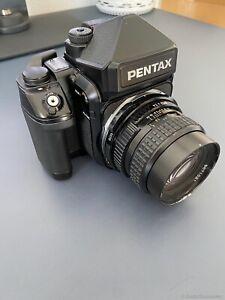 Pentax 67 II mit 105mm 2.4 und Zubehör