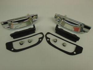 Triumph STAG ** DOOR HANDLES - PAIR ** Chromed Plastic,inc.Black pulls,gkts etc.