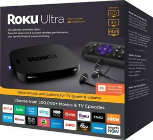 Roku-ULTRA-Streaming-Player-HD-Media-IT-Movies-TV-Netflix-Ultra-4K-HDR-2018-Ver
