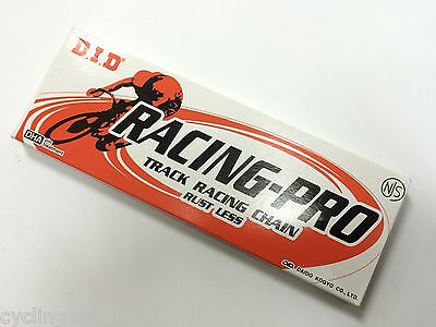 Daido Racing Pro Track Racing Chain NJS Keirin Approved DID D.I.D