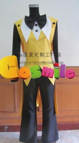Cartoon Gravity Falls Bill Cipher Cosplay  Costume Custom-made Cos
