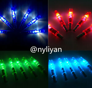 12PCS-LED-Lighted-Arrow-Nocks-For-Outdoor-Hunting-Compound-Recurve-Bow-Archery