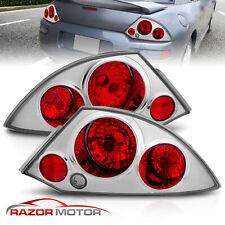 2000 2005 Mitsubishi Eclipse Basegtspyder Altezza Style Chrome Tail Lights Set Fits 2002 Mitsubishi Eclipse