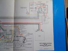 1967 JOHNSON OUTBOARD MOTORS 40HP WITH GENERATOR MODEL WIRING DIAGRAM  JS-4292 | eBayeBay