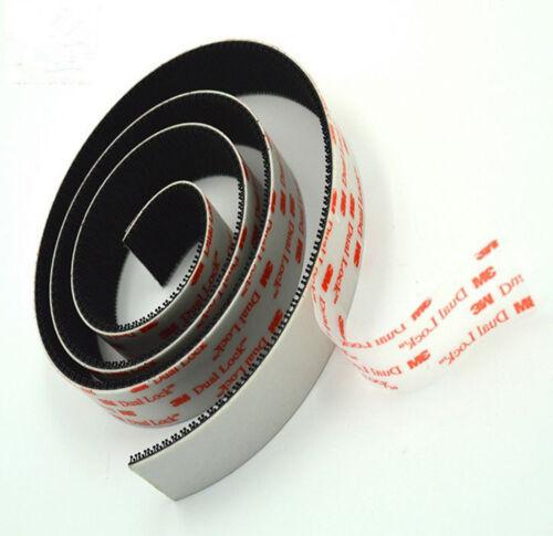 25.4mmx1m 3M SJ3550 Dual Lock Adhesive Tape Mushroom Fastener Reclosable Tape F9