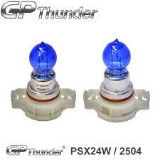 GP Thunder 7500K PSX24W Super White Xenon Halogen Light Bulbs Pair (2504 12276)
