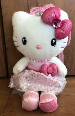 Hello Kitty USJ pink pastel plush 2017 Original Sanrio Japan NWT