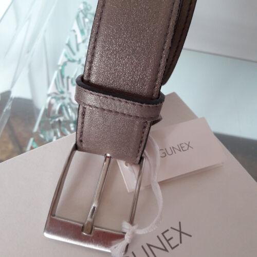 Tg Bronzo Cucinelli Cintura 5 50 cm 3 Alt nuovo brunello Pelle Dorato Gunex fnZTpnw