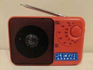 Sega-Sports-AM-FM-Radio-Rare-amp-OOP-Exclusive-Merchandise
