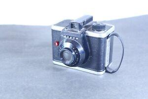 Vintage ANSCO Black Ready Flash Camera Made In Binghamtom NY USA Untested