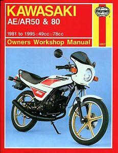 1007 Haynes Kawasaki AE-AR 50 & 80 (1981 - 1995) workshop manual-afficher le titre d`origine No6vVf1o-08141900-112525003