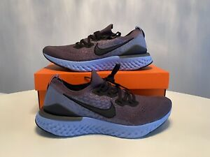 Nike-Epic-React-Flyknit-2-Size-10-Mens-Thunder-Grey-Black-Ocean-Fog-BQ8928-012