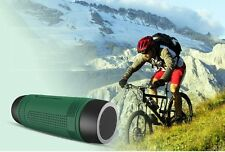 Zealot Outdoor Wireless Bluetooth Bicycle Riding Stereo Bass Speaker Flashlight