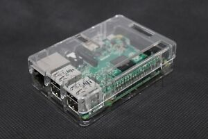 Premium-Clear-Case-For-Raspberry-Pi-B-amp-Raspberry-Pi-3-Model-B-Access-All-Ports