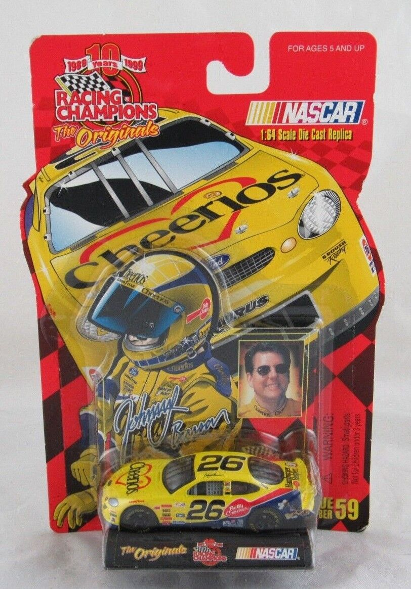 Racing Champions The Originals Johnny Johnny Johnny Benson  64 Scale Diecast NASCAR 1999 7ecdea