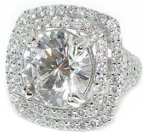5CT-Round-Lannyte-3CT-Cushion-Double-Halo-Pave-Shank-DIAMOND-Ring-Setting-18KWG