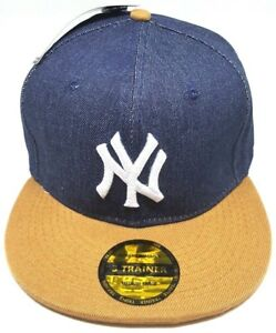 New-Era-3-Trainer-Fitted-Quality-New-York-Yankees-MLB-Baseball-Cap-Hat-Authentic