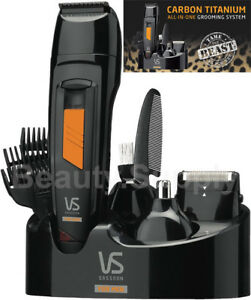 VS-Sassoon-VSM7056A-Cordless-Rechargeable-Hair-Beard-Body-Trimmer-Shaver-Groomer