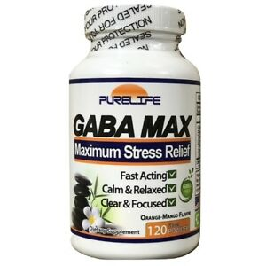 PureLife GABA MAX for Stress Anxiety