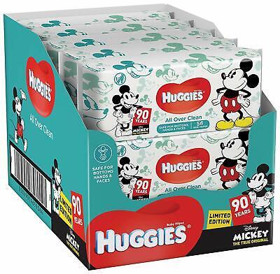 10x56 Tücher Neu Huggies Baby Feuchttücher zufällige Special Edition
