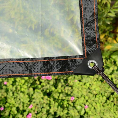 Transparente Plane Gewächshaus Folie Durchsichtig Outdoor  Dicke Klare Garten B