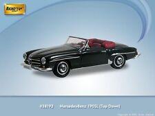 HO 1/87 Ricko # 38193 - Mercedes-Benz  190 SL Covertible w/Top Down Black