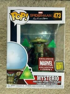 Mysterio-Light-Up-Collector-Corps-Funko-Pop-Vinyl-New-in-Mint-Box-Protector