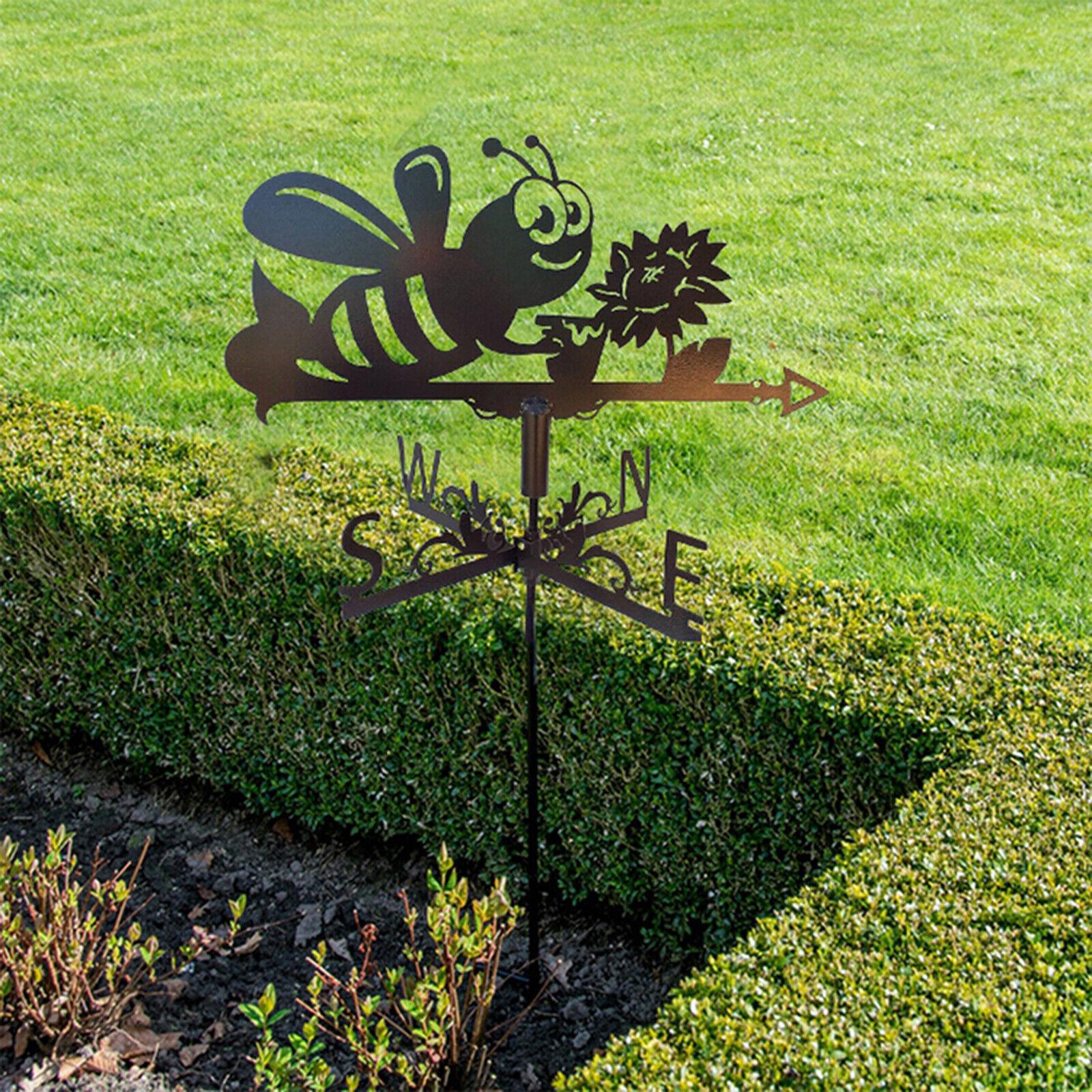 Weather Vane Wind Direction Indicator Kit Weather Vane Garden Decor Bee