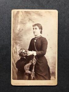 Image Is Loading Victorian Carte De Visite CDV Lady Rayner Leek