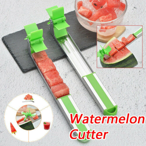 Watermelon Cubes Cutter Windmill Shape Slicer for Salad /& Watermelon Juice ED