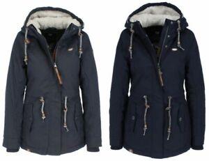 Naketano Ladies Winter Jacket Coat Blue A Woman 039 s Will